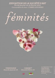 affiche expo féminités