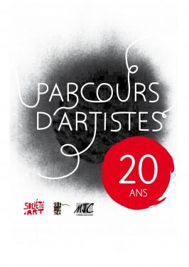 logo du parcours d'artistes 2013 corbeil essonnes